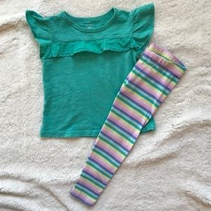 Carter's 2 piece outfit size 2t